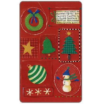 Mobika - Christmas 2001 1, Unicef, 25 units