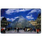 The Phonecard Shop: Mobika - Paris, glass pyramid, 50 units