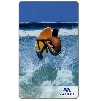 The Phonecard Shop: Mobika - Surfing, 25 units