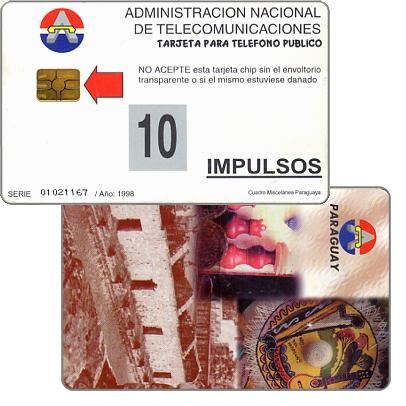 Phonecard for sale: Antelco,  Montage, 10 impulsos