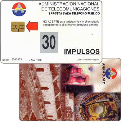Phonecard for sale: Antelco,  Montage, 30 impulsos