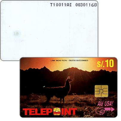 Telepoint - Llama Macchu Picchu, s/.10
