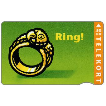 The Phonecard Shop: KTAS - Ring, 05.95, 30 kr