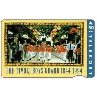 The Phonecard Shop: KTAS - The Tivoli Boys Guard, 50 kr