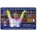 The Phonecard Shop: Albacom - Garzelli Pink Shirt, L.10000