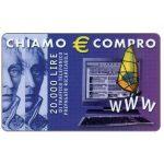 The Phonecard Shop: Albacom - Chiamo € Compro, 20.000 lire