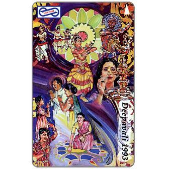 Uniphonekad - Deepavali 1993, Hindu Culture, 59MSAA, $10