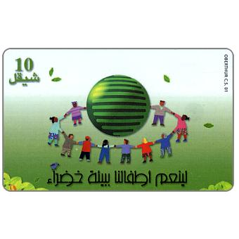 The Phonecard Shop: Children in a Circle, 05.00, 10 units