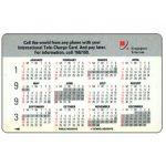 The Phonecard Shop: Calendar 93, 1SCLA, $5
