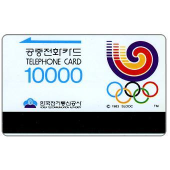 Olympics logo, 10000 won
