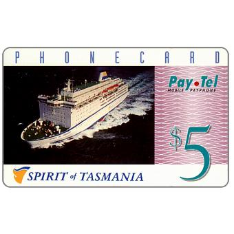 The Phonecard Shop: PayTel - Second issue, Spirit of Tasmania, $5
