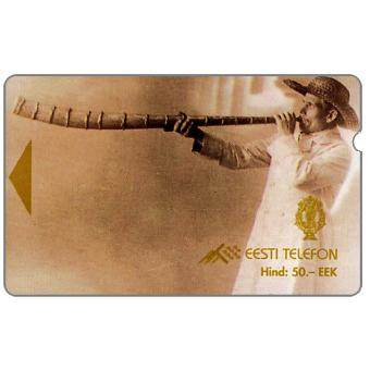 The Phonecard Shop: Horn player, 50 EEK