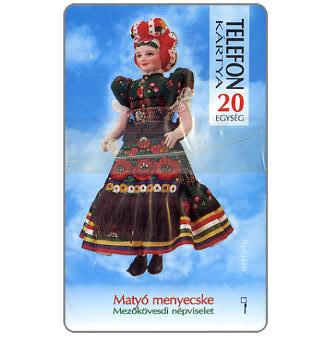 Doll in traditional dress, 20 units