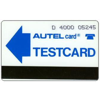 Federativna Social. Rep. - Test card, D. 4000