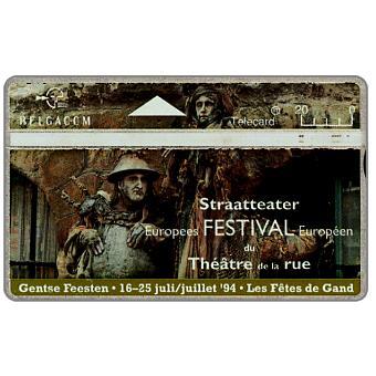 The Phonecard Shop: European Festival Gand, 20 units