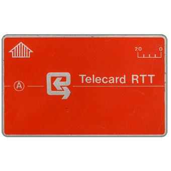 The Phonecard Shop: Definitive, no notch, code 4B1, 20 units