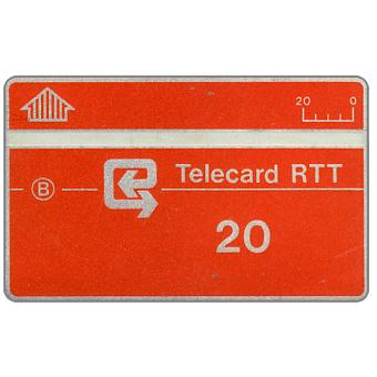 The Phonecard Shop: Definitive, no notch, code 812A, 20 units