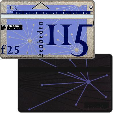 The Phonecard Shop: Definitive, 7th series, printed back, 115 units