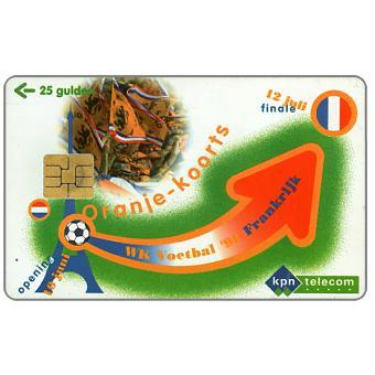 The Phonecard Shop: WK Voetbal '98 Frankrijk, de Oranje Wave, FL 10