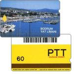 Phonecard for sale: Bodrum Yat Limani, barcode, 60 units