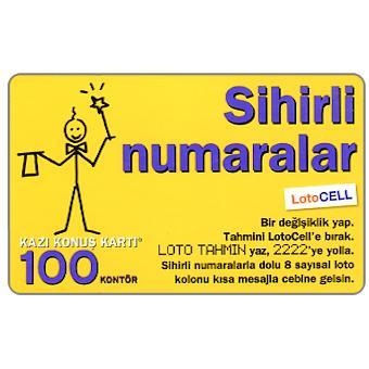 The Phonecard Shop: Turkcell - Hazir kart, 100 kontor