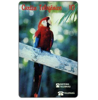 Phonecard for sale: Teleparà - Red parrot, 10 units