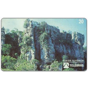 Phonecard for sale: Sistema Telebras - Cidade dos Deuses, 20 units