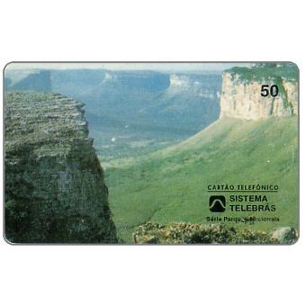 The Phonecard Shop: Sistema Telebras -  Parque Nacional da Chapada da Diamantina, 50 units
