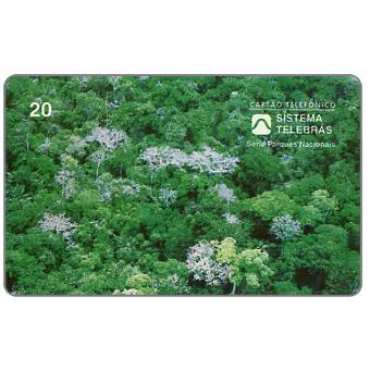 Phonecard for sale: Sistema Telebras - Parque Nacional da Amazonia, 20 units