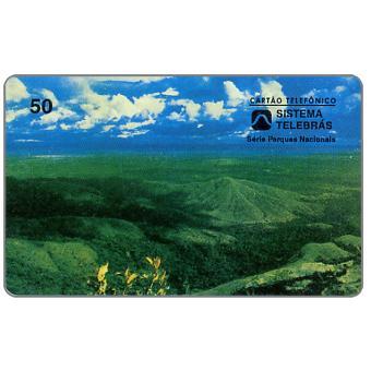 Phonecard for sale: Sistema Telebras - Parque Nacional da Chapada dos Guimaraes, 50 units