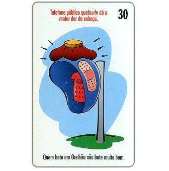 The Phonecard Shop: Brazil, Telesc - Telefone publico, 30 units