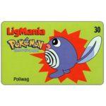 The Phonecard Shop: Telebrasilia - Pokémon, Poliwag, 30 units