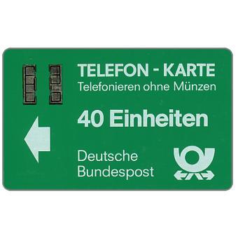 The Phonecard Shop: Trial card Testgebiet Bonn/Aachen, 40 Einheiten