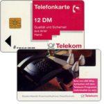 The Phonecard Shop: Porsche telephone, 12 DM