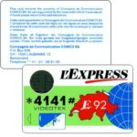 The Phonecard Shop: Comco - Card, L'Express