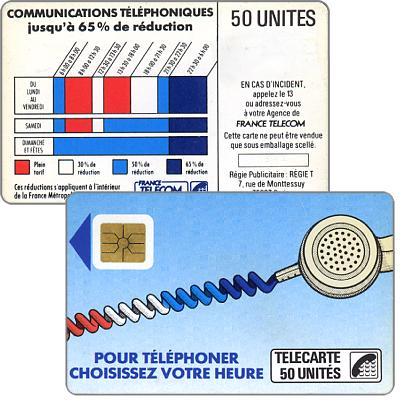 """The Phonecard Shop: Definitive """"Cordons Bleus"""", text """"Regie Publicitaire: REGIE T"""", chip SO2 with frame, 50 units"""