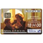 The Phonecard Shop: Tarifs 18 H 00, 11/91, chip SC-4, 120 units