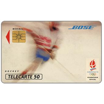 The Phonecard Shop: Bose - Hockey, 50 units