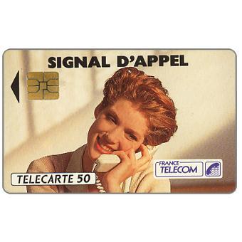 The Phonecard Shop: Signal d'appel, 03/92, chip SO3, 50 units
