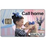 The Phonecard Shop: Call Home, 07/93, chip SC-5, 50 units