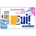 The Phonecard Shop: Preservatifs: oui, chip GEM, 50 units