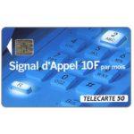 The Phonecard Shop: Signal d'Appel, 08/93, 50 units
