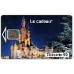 The Phonecard Shop: EuroDisney - Le cadeau, chip SC-5, 50 units