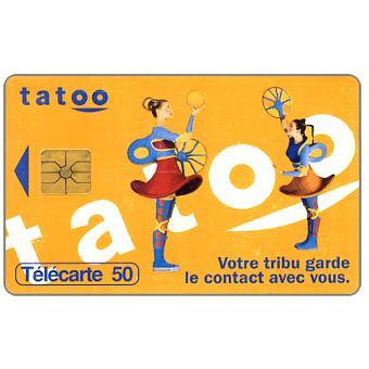 The Phonecard Shop: Tatoo, 50 units