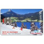 The Phonecard Shop: Ski France, chip SC-7, 50 units
