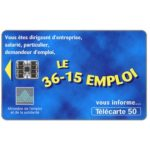 Phonecard for sale: 36-15 Emploi, chip SC-7, 50 units