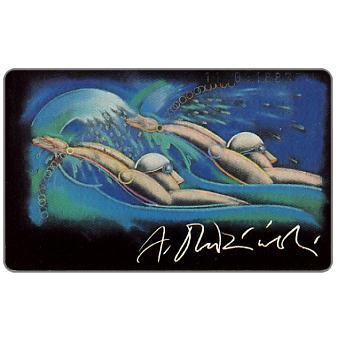 The Phonecard Shop: Team Olympia 1992, Swimmer, 12 DM