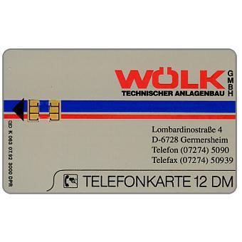 The Phonecard Shop: Wolk, 12 DM