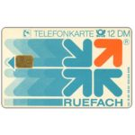 The Phonecard Shop: Ruefach, 12 DM