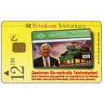 The Phonecard Shop: Kruger - Richard von Weizsacher, 12 DM